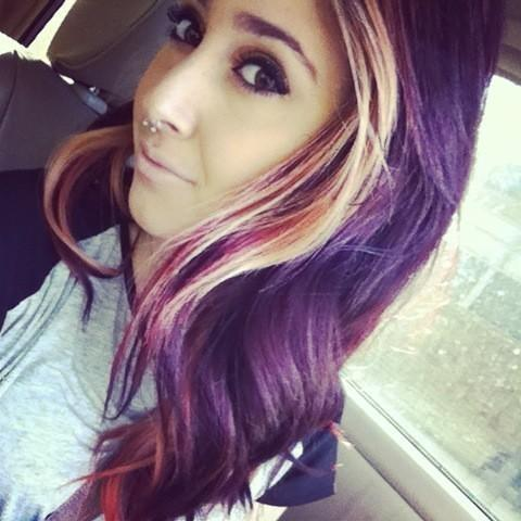 Burgundy Amp Blonde Hair Hairstyles How To