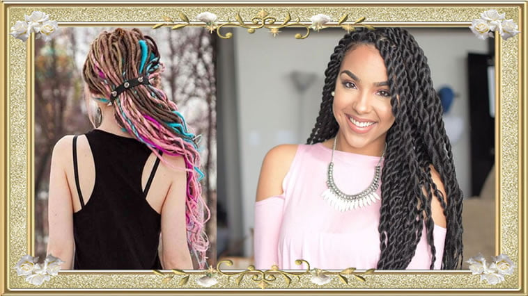 Braided Box Long Hairstyles For Women