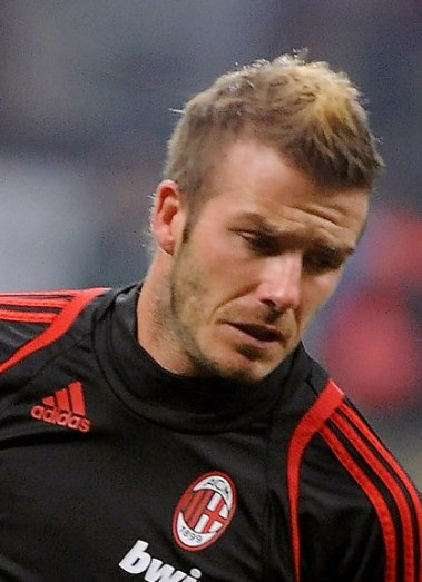 David Beckham Fauxhawk