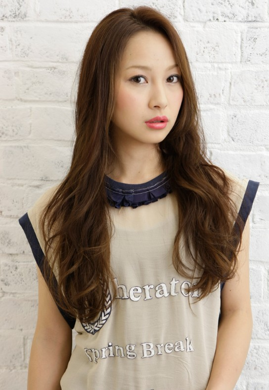 long Japanese hairstyle 2012