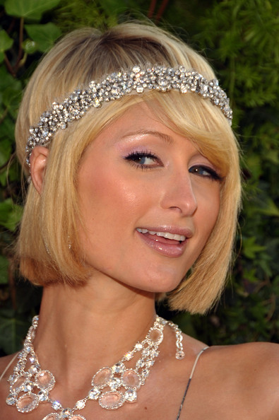 Paris Hilton updo for wedding
