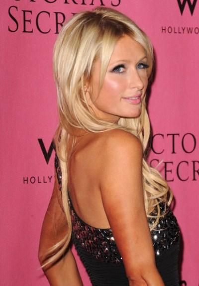 Long Haircut from Paris Hilton at Awards