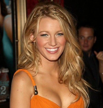 Blake Lively Braided hairstyle