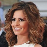 Cheryl Cole Wavy Curly Hairstyle
