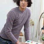 Curly Korean Hairstyle for Men 2013