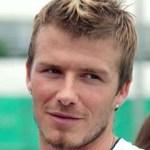 David Beckham Fauxhawk Hairstyle