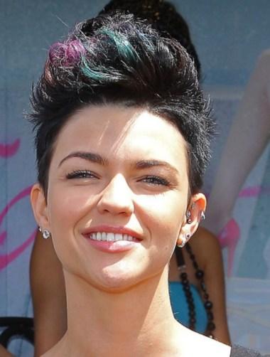 2013 Faux Hawk Haircut for Women