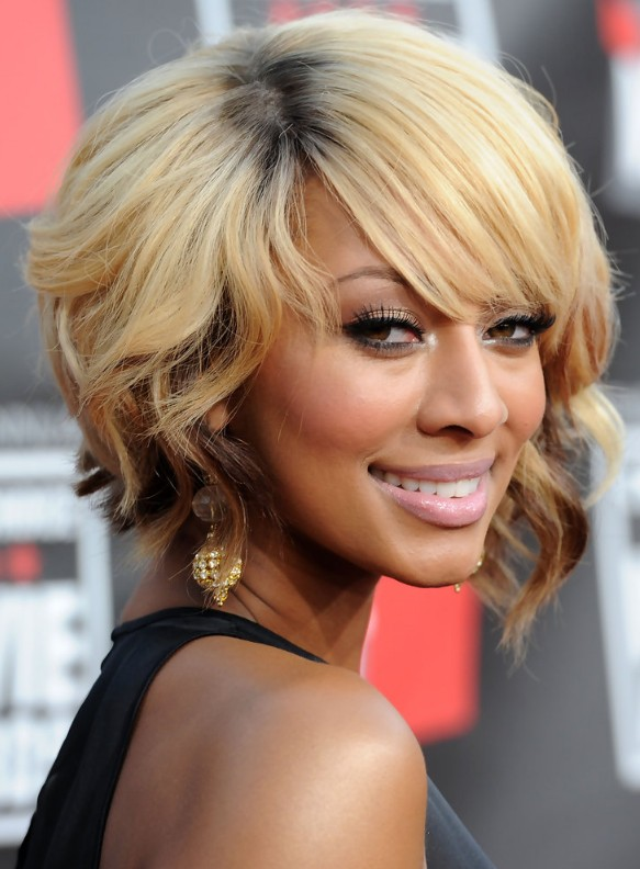 Inverted Wavy Bob Hairstyle