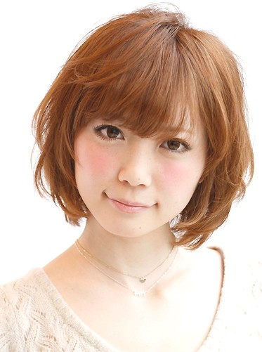 Japanese bob Hairstyle