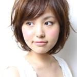 Short Japanese Haircut with bangs