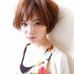 Short Japanese haircut for women