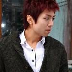 Short Korean Hair Style for Men