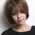 Short Messy Asian haircut