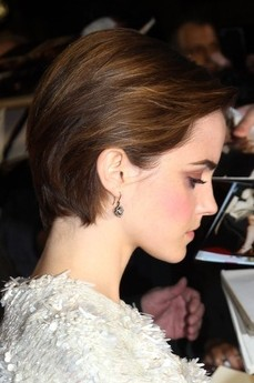 Side View of Short Haircut 2014