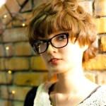 Stylish Curly Japanese Hairstyle 2012