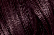 Hair Color Chart: Midnight Ruby