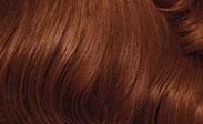 Hair Color Chart: Light Auburn