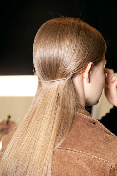 2013 Hairstyle Trend Low Ponytail