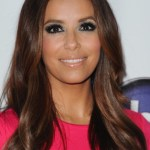 Eva Longoria Casual Long Hairstyle with Layers
