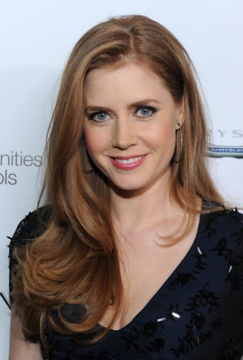 Amy Adams Casual Long Hairstyles