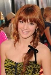 Celebrity Red Fishbone Braid - 2013 Popular Braided Hairstyles