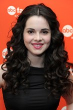 Center Parted Long Curly Hairstyle 2013