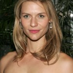 Claire Danes Medium Wavy Half Up Half Down Hairstyle for Prom