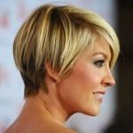 Cute layered razor cut hairstyle