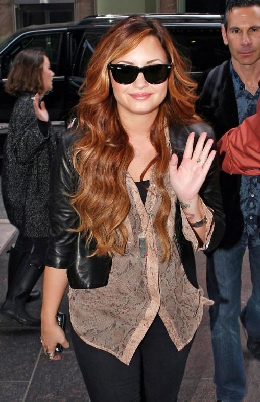 Demi Lovato Ombre Hair
