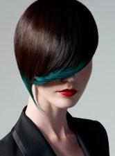 Gothic Black hairstyle 2013
