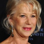 Helen Mirren French Twist Updo for older Women