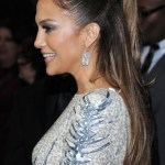 Jennifer Lopez Half Up Half Down Ponytail Hairstyle 2013