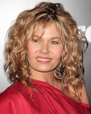 Katarzyna Wolejnio Medium Curly Hairstyle