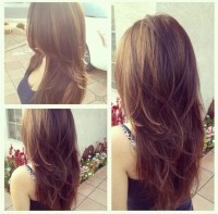 Layered Long Hairstyle for Girls