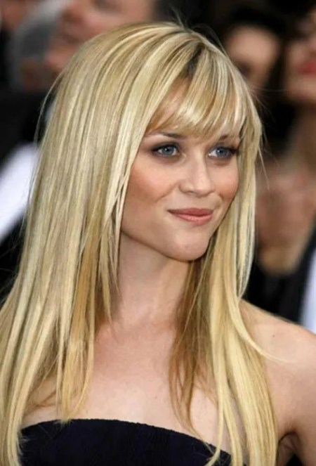 Layered Long Straight Hairstyles for Women