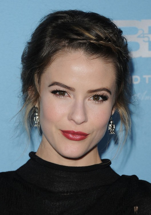 Linsey Godfrey Hairstyles with Twisted Bangs