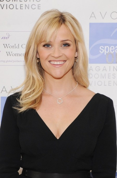 Long Blonde Straight Hairstyle with Bangs for 2013