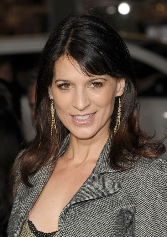 Perrey Reeves Sexy Long Hairstyle for Mature Women