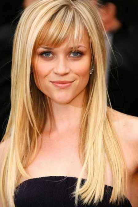 Long Straight Blonde Hairstyles 2013