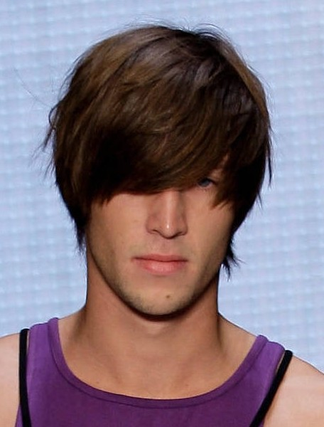 Medium Hairstyles for Guys 2013