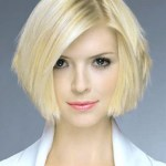 Pageboy hair style