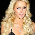 Paris Hilton Long Curly Blonde Hairstyle