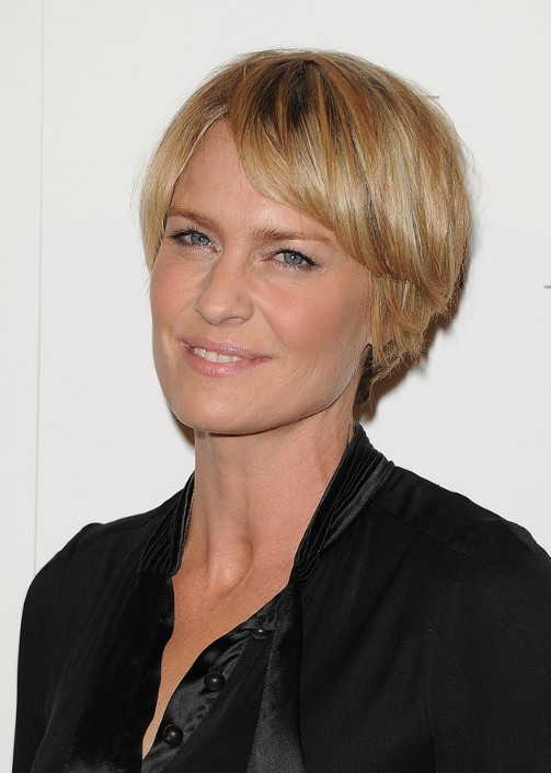 Robin Wright Penn short hairstyle