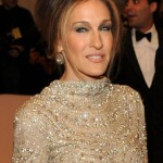 Sarah Jessica Parker French Twist Updo for Older women