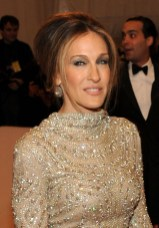 Sarah Jessica Parker French Twist Updo for Older women