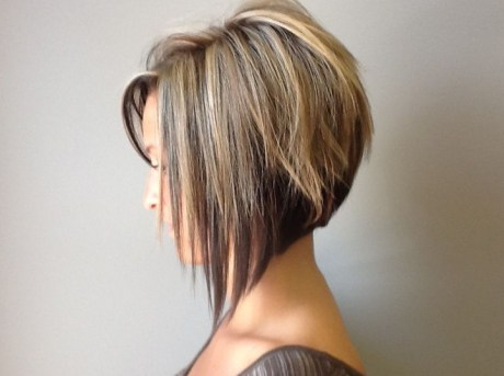 Graduated Bob Hairstyle 2014 – Trendy Bob Haircut for Women