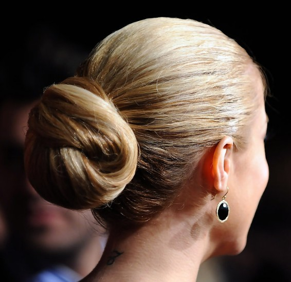 Sleek Knotted Updo Hairstyle for Any Occasion