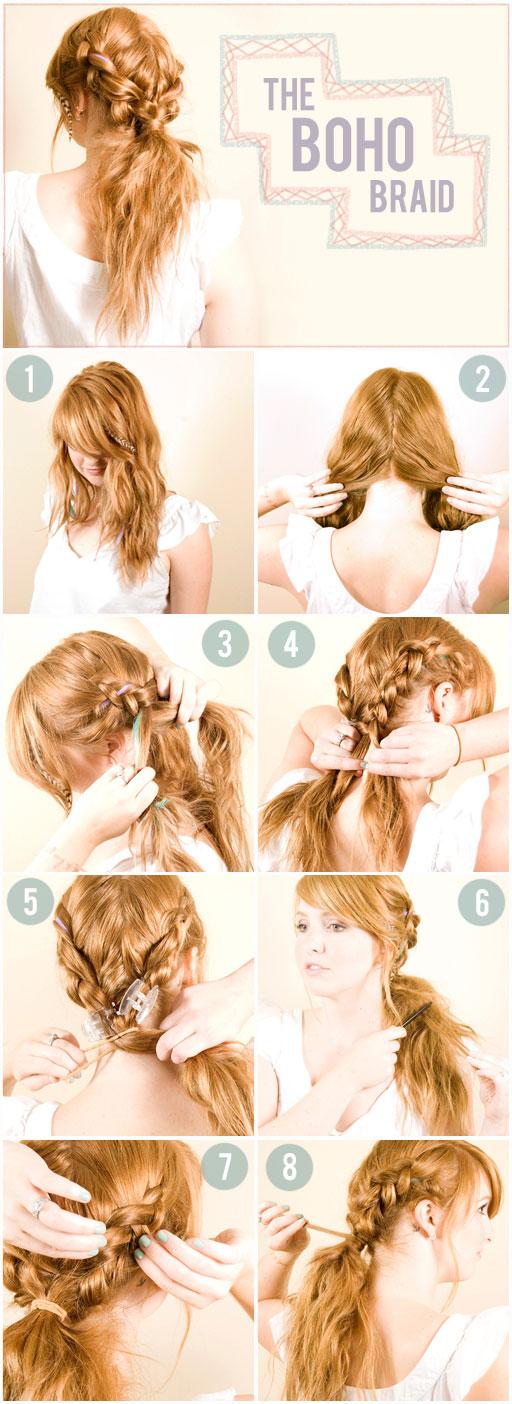 How to Create the boho braid