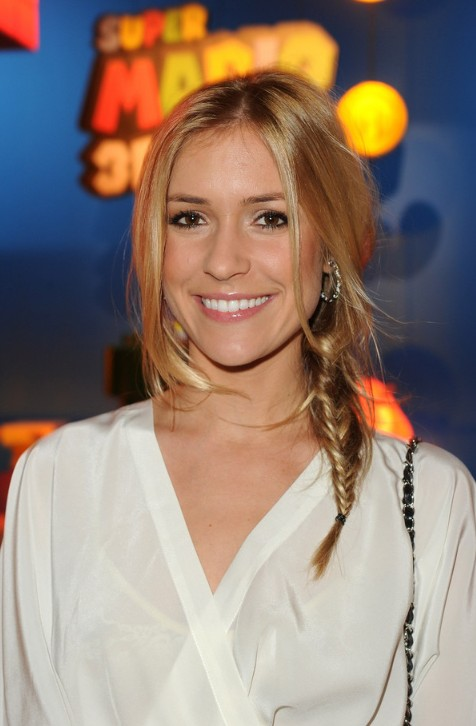 Kristin Cavallari Long Hairstyle with Side Braid