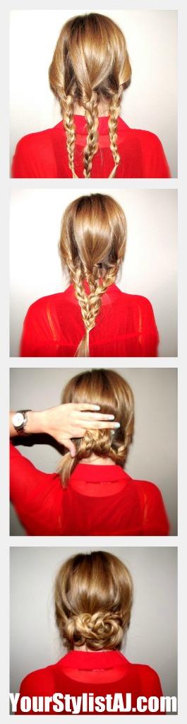 Braiding Tutorials: how to braid your hair (6)